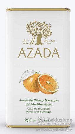 AZADA - Pomaranč & Extra Panenský Olivový Olej 250 ml