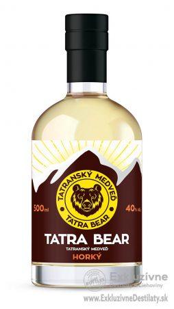 Tatranský Medveď horký 0,5 l 40%