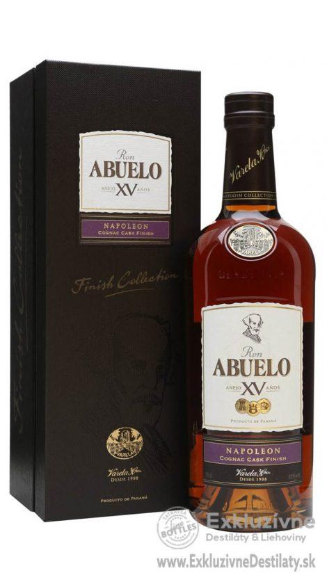 Abuelo XV Cognac Cask Napoleon 0,7 l 40%