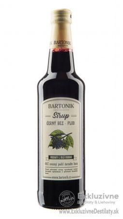 BARTONIK Sirup Čierna Báza 0,5 l