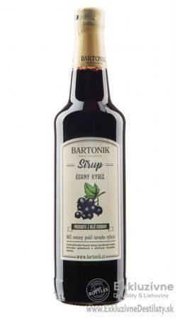 BARTONIK Sirup Čierna Ríbezľa 0,5 l