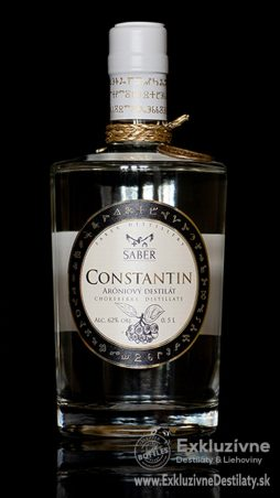 CONSTANTIN Aróniový destilát 0,5 l 62%