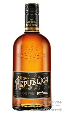 Božkov Republica Exclusive 0,7 l 38%