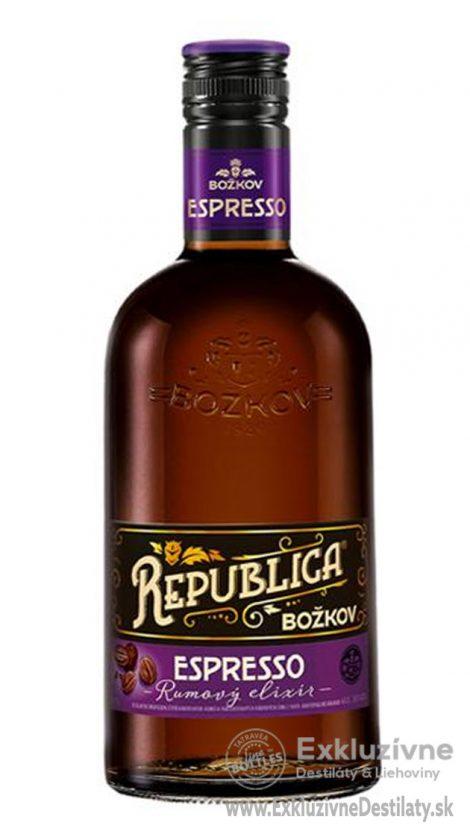 Božkov Republika Espresso 0,7 l 35%