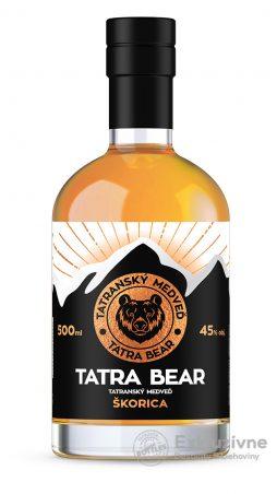 Tatranský Medveď škorica 0,5 l 45% new
